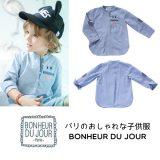 BONHEUR DU JOUR  ボーイズシャツ(16090